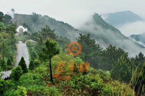 b队骑行葛仙山旅游快速通道到葛仙山风景区休息,骑行游览景区,待a队绕
